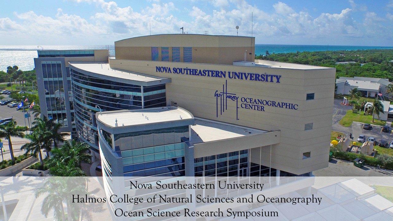 HCNSO Ocean Science Research Symposium