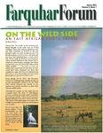 Spring 2001 Farquhar Forum