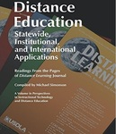 Distance education: Statewide, institutional, and international applications