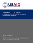 Analysis to Action: A Guidebook For Conflict-Sensitive USAID Programming in Africa