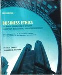 Business Ethics: The Moral Foundation of Leadership, Management, and Entrepreneurship