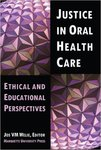 Oral Health and Social Justice: Oral health status, financing and opportunities for leadership