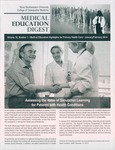 Medical Education Digest, Vol. 16 No. 1