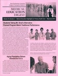 Medical Education Digest, Vol. 15 No. 3 (May/June 2013) by Nova Southeastern University