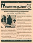 Medical Education Digest, Vol. 14 No. 5 (September/October 2012) by Nova Southeastern University