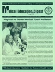Medical Education Digest, Vol. 14 No. 4 (July/August 2012) by Nova Southeastern University