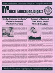 Medical Education Digest, Vol. 13 No. 3