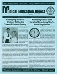 Medical Education Digest, Vol. 13 No. 2 by College of Osteopathic Medicine
