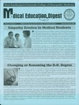 Medical Education Digest, Vol. 11 No. 5