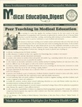 Medical Education Digest, Vol. 10 No. 1