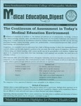 Medical Education Digest, Vol. 9 No. 4