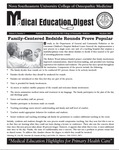Medical Education Digest, Vol. 9 No. 3