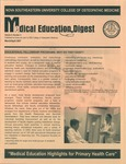 Medical Education Digest, Vol. 9 No. 2