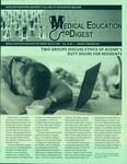 Medical Education Digest, Vol. 18 No. 1 (January-February 2016) by Nova Southeastern University