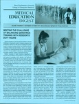 Medical Education Digest, Vol. 17 No. 5 (September-October 2015) by Nova Southeastern University