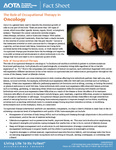 Fact Sheet: Role of Occupational Therapy