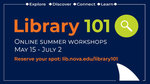 Library Homepage Tour