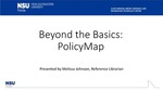 PolicyMap by Melissa M. Johnson and Charlene Cain