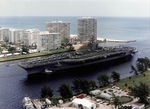 USS George Washington (CVN 73) by Courtesy of Naval Air Station Fort Lauderdale Museum