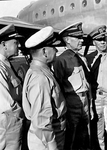 Admiral Nimitz and others in Hawaii by Courtesy of the Naval Air Station Fort Lauderdale Museum