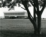 Edwin M. and Ester L. Rosenthal Student Center (south side view), 1970