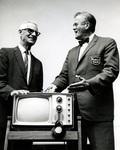 Men with TV