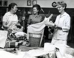 Roseanne Harvey, Betty Mark, and Theo Davis