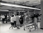The Royal Dames tour the Germ-free laboratory at the Leo Goodwin Institute for Cancer Research, 1972