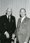 Alistair Cooke and Abe Fischler by Nova Southeastern University