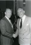 Abe Fischler and Alexander Haig by Nova Southeastern University