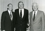 Abe Fischler and William F Buckley and William Horavitz by Nova Southeastern University