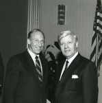 Abe Fischler and Helmut Schmidt by Nova Southeastern University