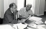 Dr. Joel Warren, Director of the Leo Goodwin Institute for Cancer Research (1969-1980) and Dr. Albert Bruce Sabin