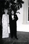 Dr. Joel Warren, Director of the Leo Goodwin Institute for Cancer Research (1969-1980), and his wife Virginia Warren at a fund raising event for the Leo Goodwin Institute for Cancer Research