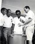 Steve McQueen visits the Oceanographic Center