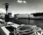A scenic view of Nova University Oceanographic Center, 1973