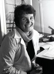 Dr. Clarice M. Yentsch, graduate of Nova University Oceanographic Center and currently adjunct professor at Nova Southeastern University