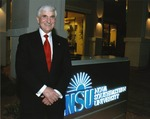 Dr. George L. Hanbury II, sixth President (2010-) of Nova Southeastern University