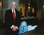 Dr. George L. Hanbury II, sixth President (2010-) of Nova Southeastern University