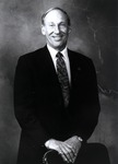 Portrait of Abraham S. Fischler, second President (1970-1992) of what was formerly known as Nova University. In 1994, Nova University merged with Southeastern University of the Health Sciences to form Nova Southeastern University