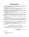 The Town of Hillsboro Beach Proclamation by Town of Hillsboro Beach