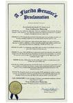 Florida State Senate District 12 Proclamation