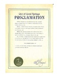 City of Coral Springs Proclamation