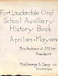 Baudhuin Oral School Auxiliary History Book by Nova Southeastern University