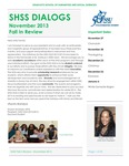 Fall 2013 by Graduate School of Humanities & Social Sciences