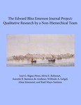 The Edward Bliss Emerson Journal Project: Qualitative Research by a Non-Hierarchical Team
