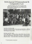 ILSA Journal of International and Comparative Law Staff 1996-1997