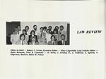Nova Law Review Staff 1985-1986