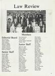 Nova Law Review Staff 1989-1990