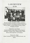 Nova Law Review Staff 1995-1996